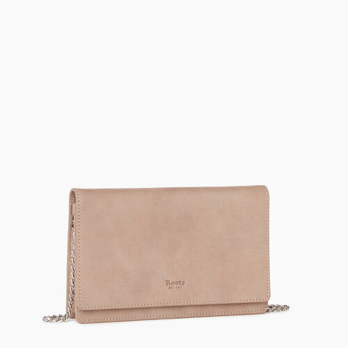 Roots-Leather Our Favourite New Arrivals-Sussex Wallet Bag-Champagne-A