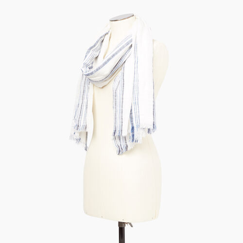 Roots-Women Our Favourite New Arrivals-Bayfield Scarf-Grey-B