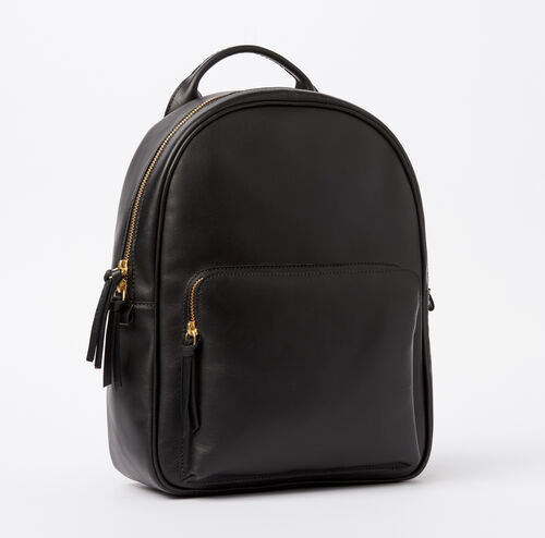 Roots-Women Categories-Chelsea Pack Heritage-Black-A
