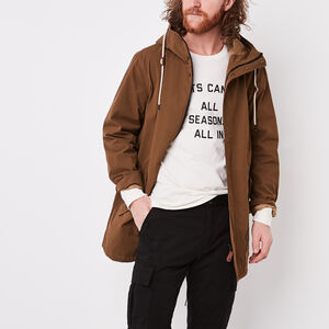 Roots-New For March Men-Westport Lightweight Parka-Calfskin Tan-A