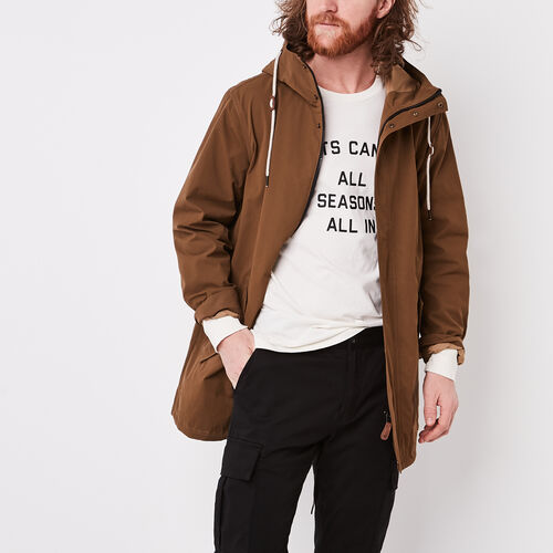Roots-Sale Jackets & Sweaters-Westport Lightweight Parka-Calfskin Tan-A