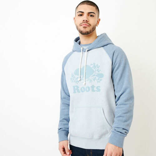 Roots-Men Our Favourite New Arrivals-Cooper Kanga Hoody-Celestial Blue Mix-A