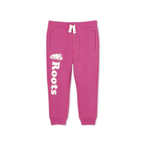 Roots-Kids Toddler Girls-Toddler Remix Sweatpant-Purple Orchid-A
