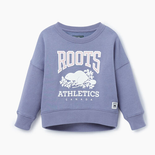 Roots-Kids Our Favourite New Arrivals-Toddler RBA Crew-Purple-A