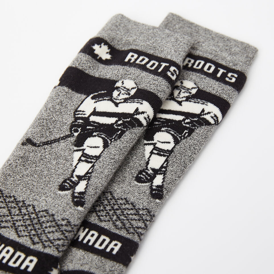 Roots-undefined-Mens Centre Ice Boot Sock-undefined-B