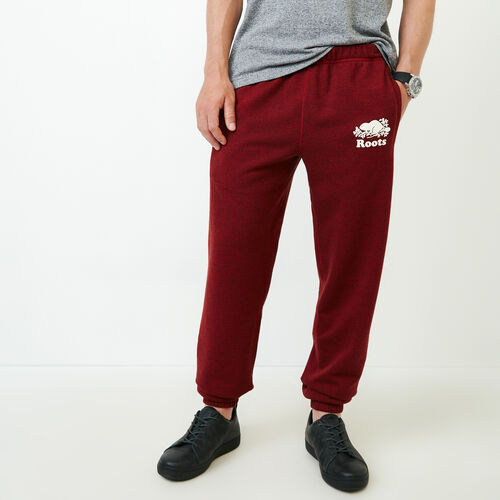 Roots-Men Sweats-Original Sweatpant-Sundried Tomato Ppr-A