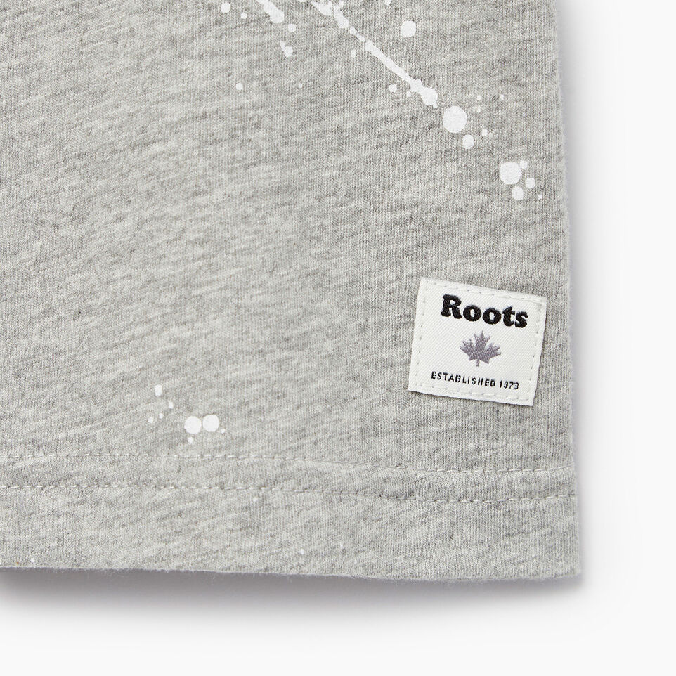 Roots-Kids Our Favourite New Arrivals-Baby Splatter Aop T-shirt-Grey Mix-C