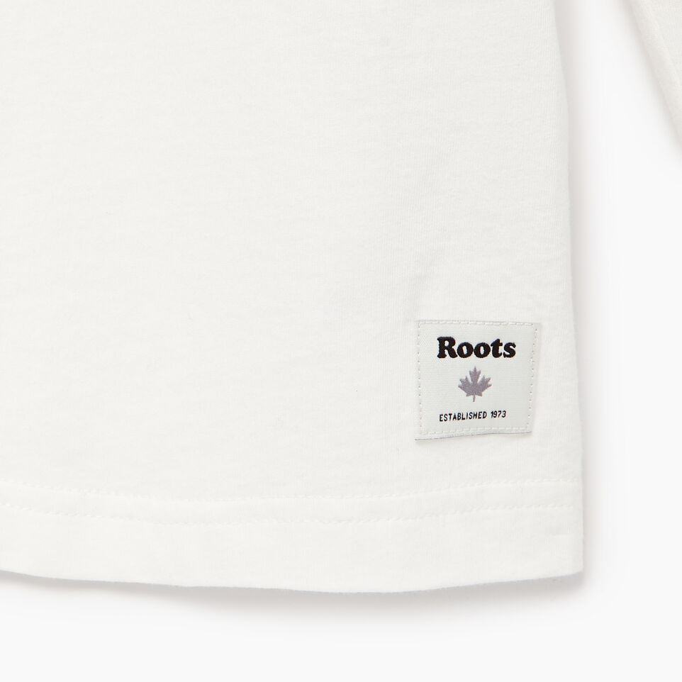 Roots-Men Our Favourite New Arrivals-Mens Roots Miami Long Sleeve T-shirt-Ivory-E