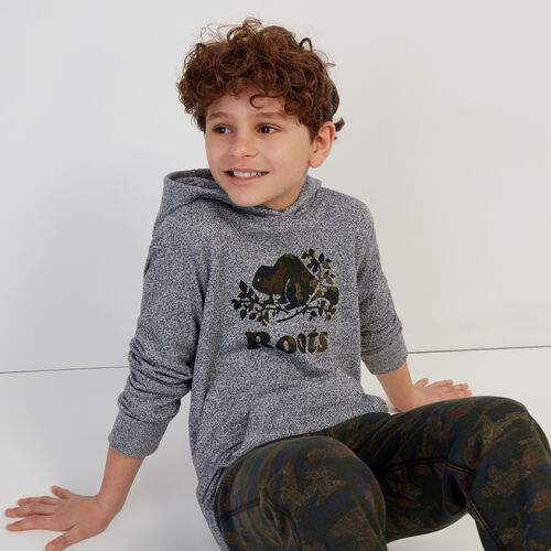 Roots-Kids Our Favourite New Arrivals-Boys Original Kanga Hoody-Salt & Pepper-A