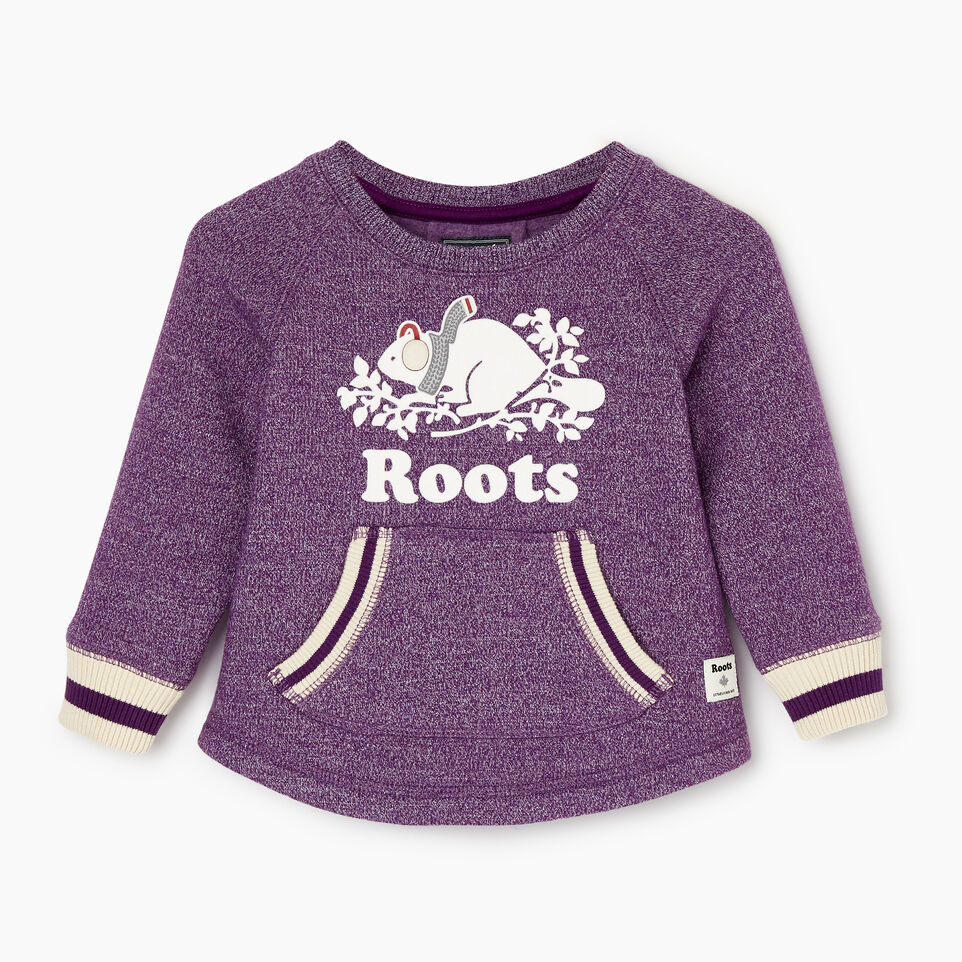 Roots-Sale Baby-Baby Buddy Cozy Fleece Pullover-Grape Royale Pepper-A