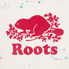 Roots-Kids Our Favourite New Arrivals-Girls Splatter Aop T-shirt-Cannoli Cream-D