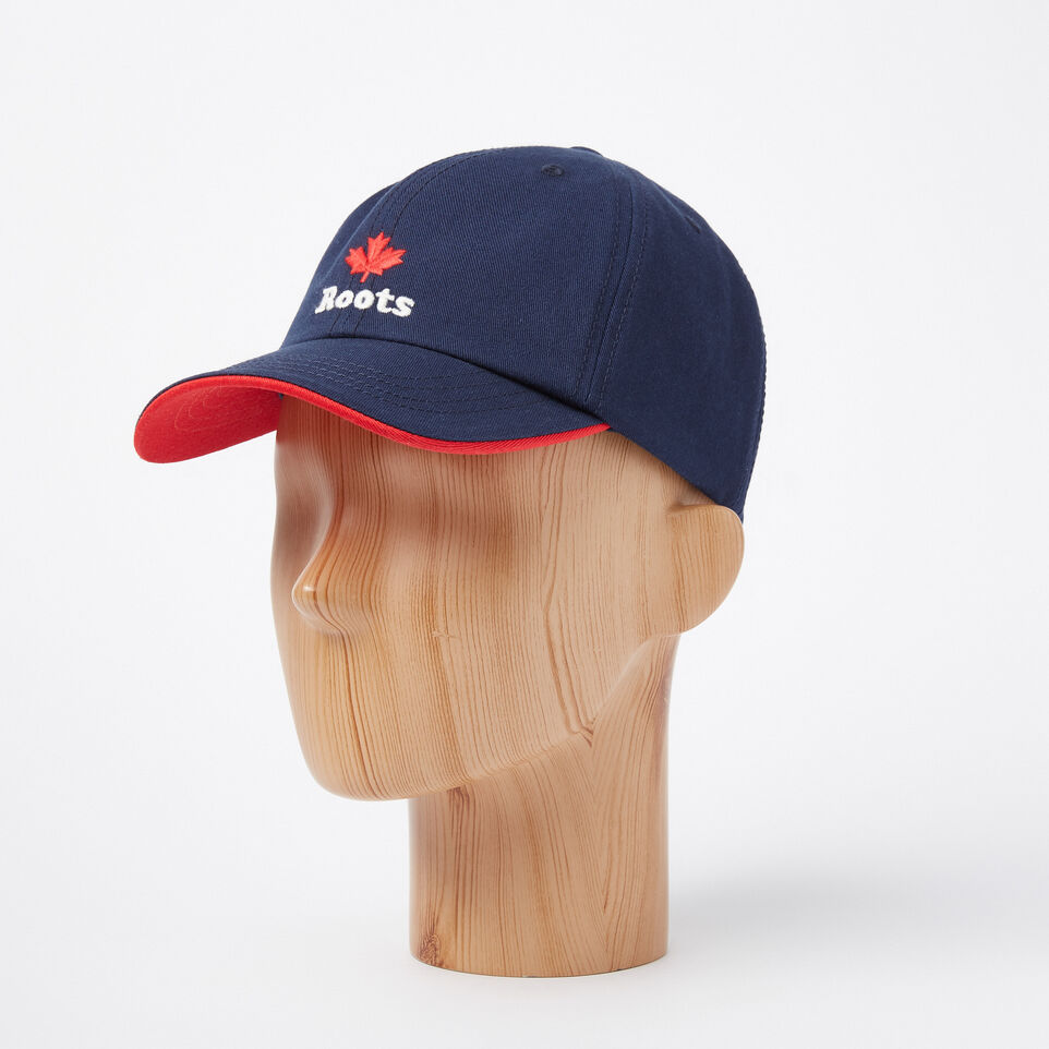 Roots-undefined-Toddler Cooper Roots Leaf Baseball Cap-undefined-B