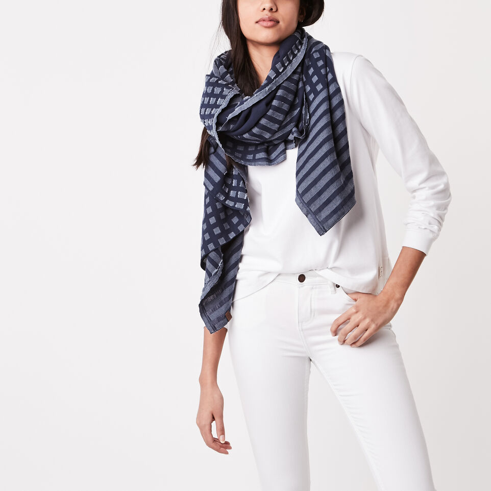 Roots-undefined-Abstract Flag Scarf-undefined-B
