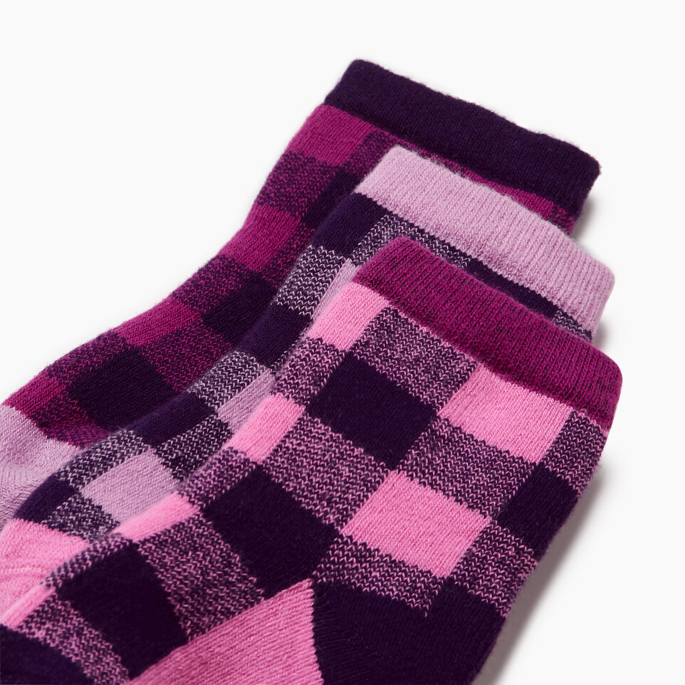 Roots-undefined-Toddler Plaid Sock 3 Pack-undefined-C