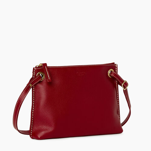 Roots-Leather Bestsellers-Edie Bag Cervino-Harvest Red-A