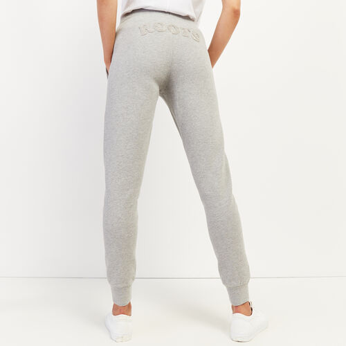 Roots-Women Slim Sweatpants-Ava Slim Cuff Sweatpant-Grey Mix-A