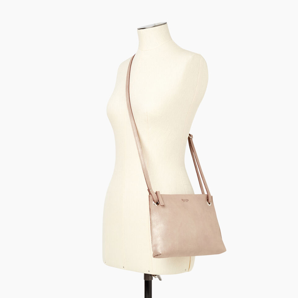 Roots-Leather  Handcrafted By Us Our Favourite New Arrivals-Edie Bag-Champagne-B