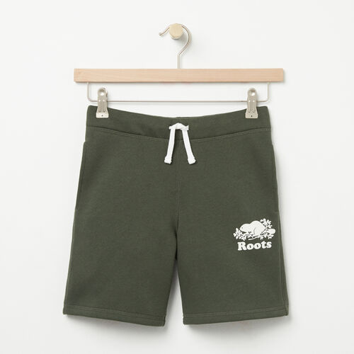 Roots-Kids Bottoms-Boys Original Athletic Short-Climbing Ivy-A