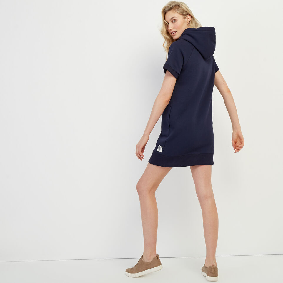 Roots-New For March Rba Collection-RBA Hooded Dress-Navy Blazer-D