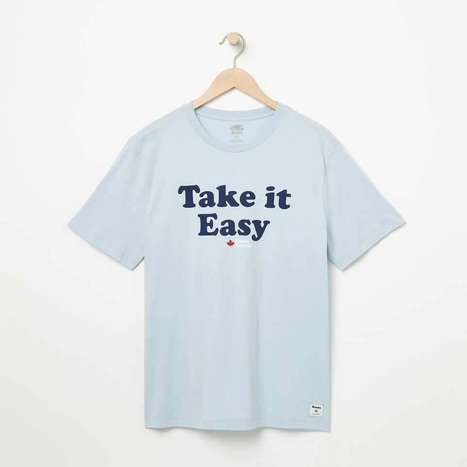 Roots-undefined-Mens Take It Easy T-shirt-undefined-A