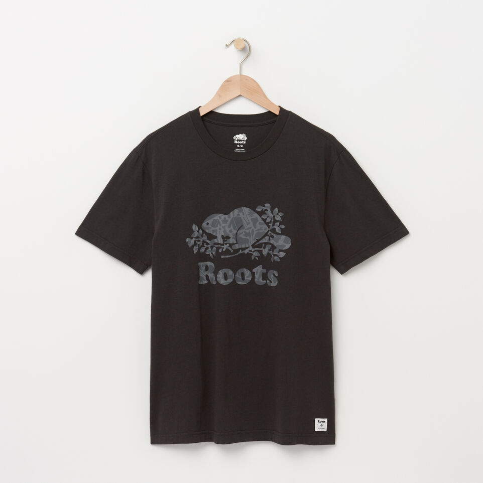 Roots-Mens Cooper Camp Fill T-shirt