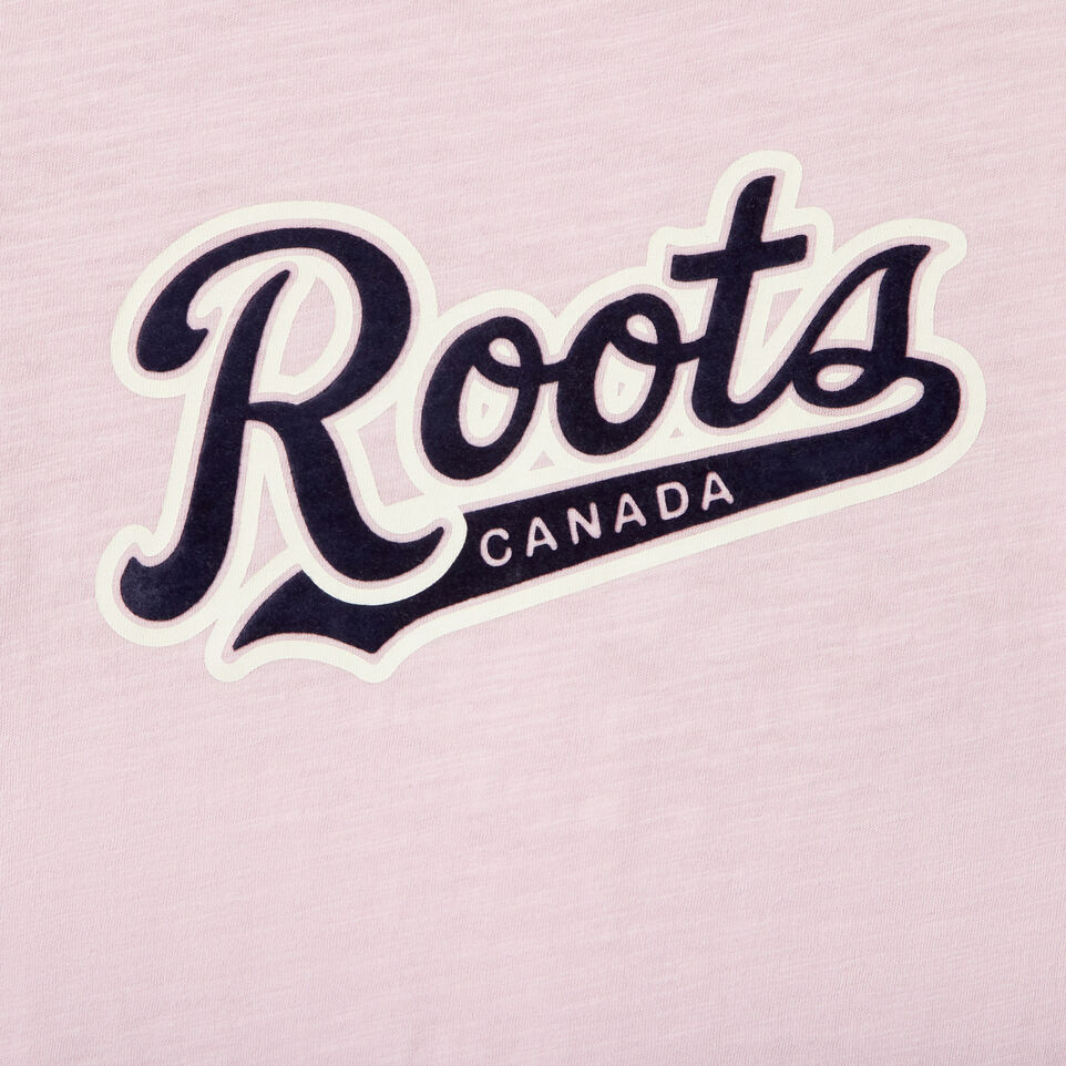 Roots-Kids Our Favourite New Arrivals-Girls Roots Script T-shirt-undefined-D