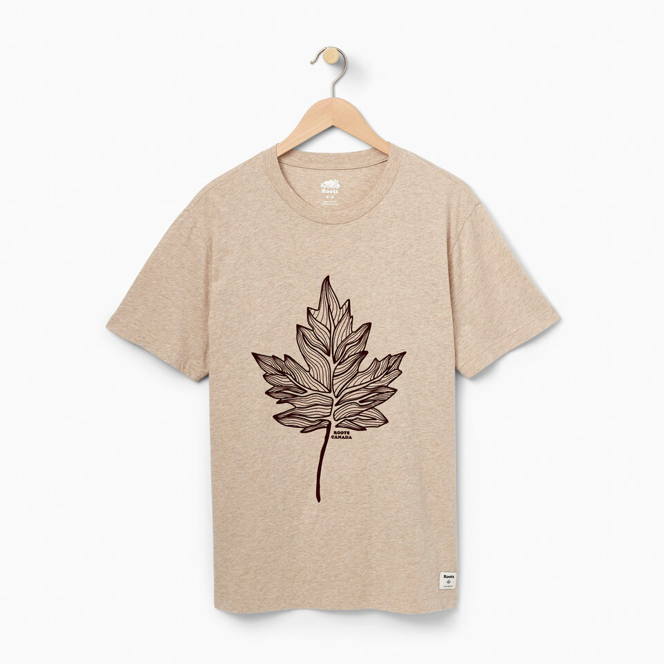 Roots-undefined-Mens New Norris T-shirt-undefined-A