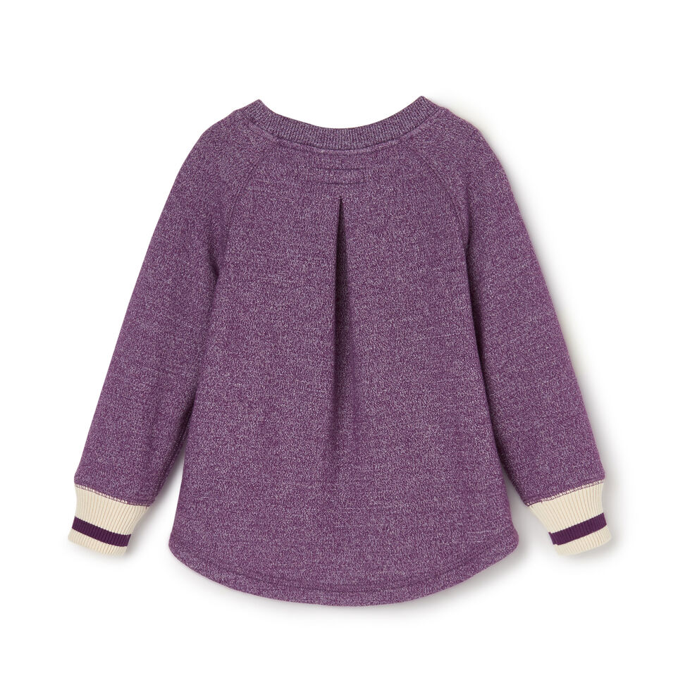 Roots-Sale Kids-Toddler Buddy Cozy Fleece Pullover-Grape Royale Pepper-B
