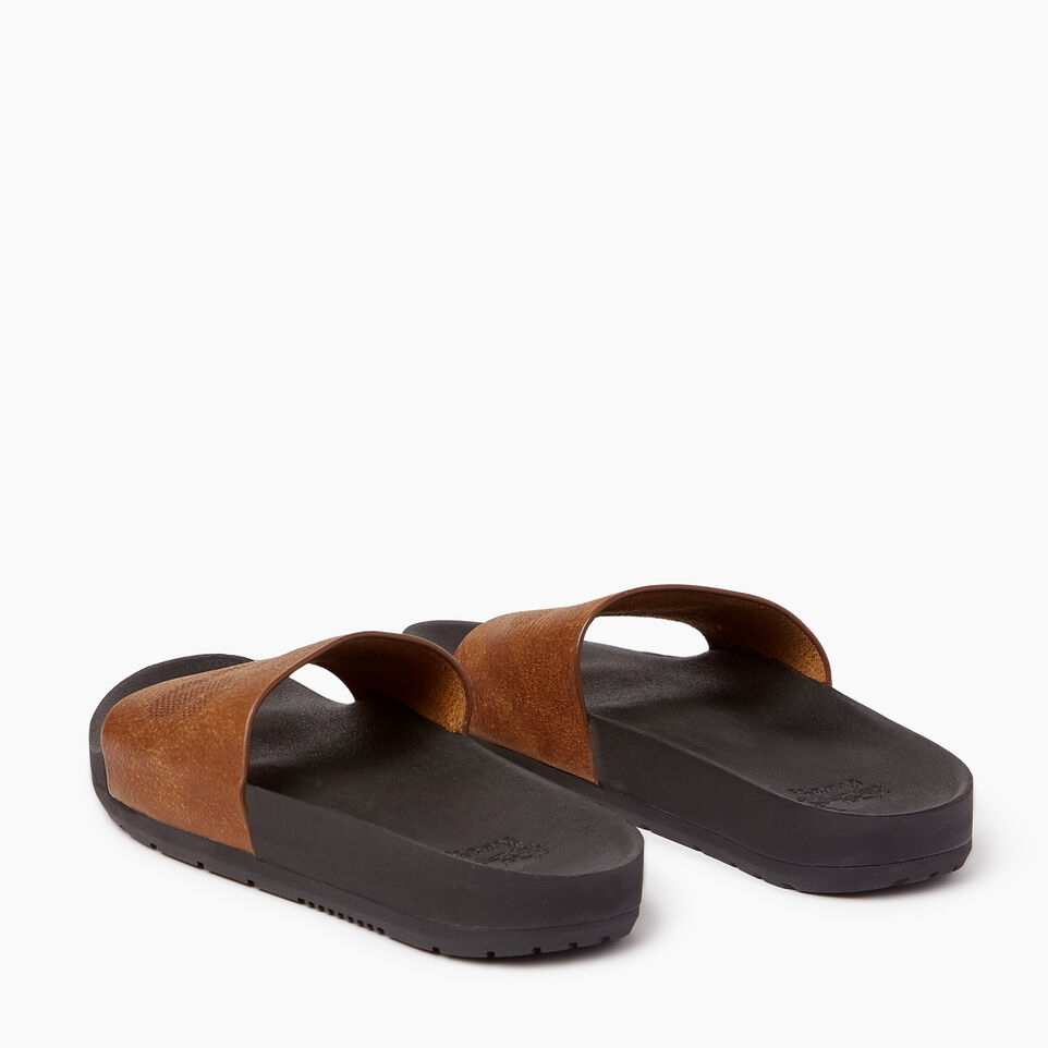 Roots-Footwear Our Favourite New Arrivals-Womens Long Beach Pool Slide-Natural-E
