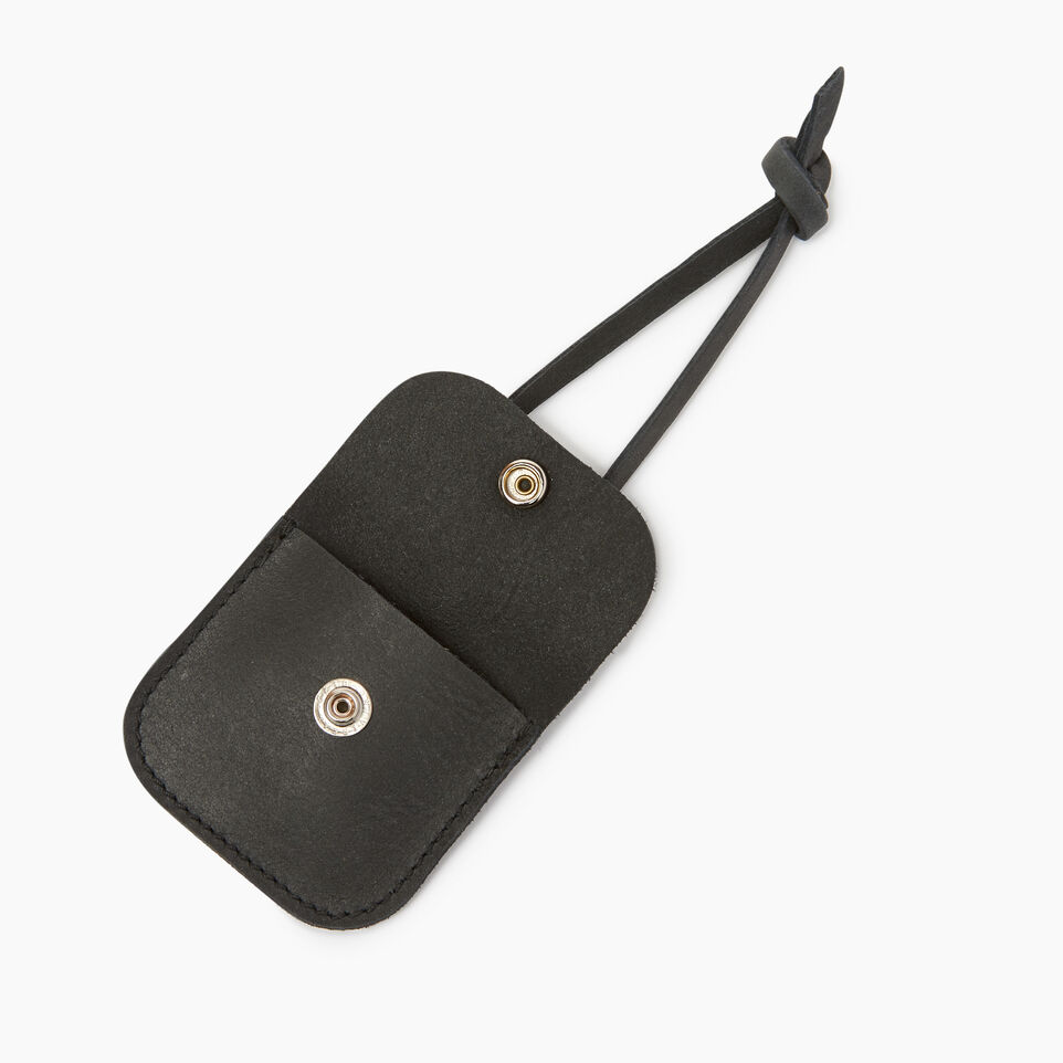 Roots-Leather Leather Accessories-Leather Tie Pouch-Jet Black-B