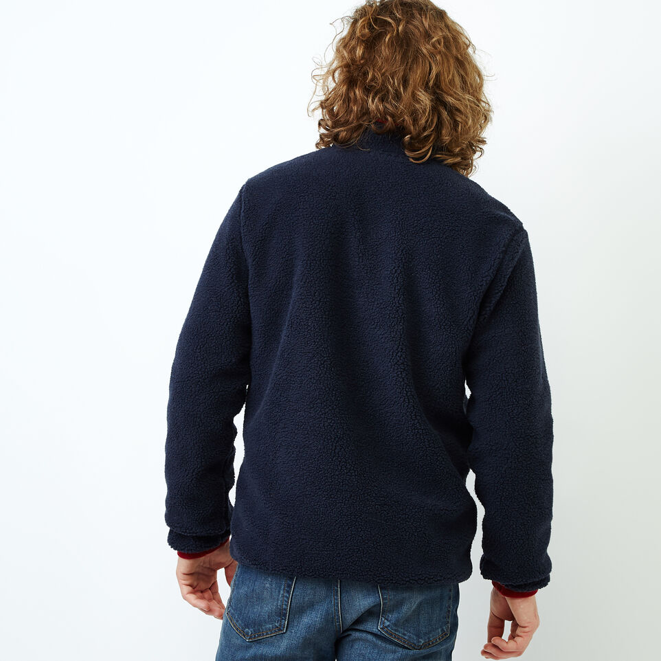Roots-Men Our Favourite New Arrivals-Whistler Full Zip Mock Sweatshirt-Navy Blazer-D