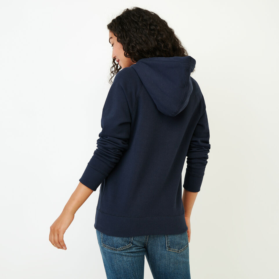 Roots-Women Our Favourite New Arrivals-Stamps Kanga Hoody-Navy Blazer-D