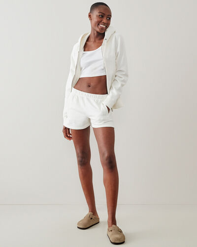 Roots-New For This Month Diy Collection-Original Sweatshort 3.5 In-Egret-A