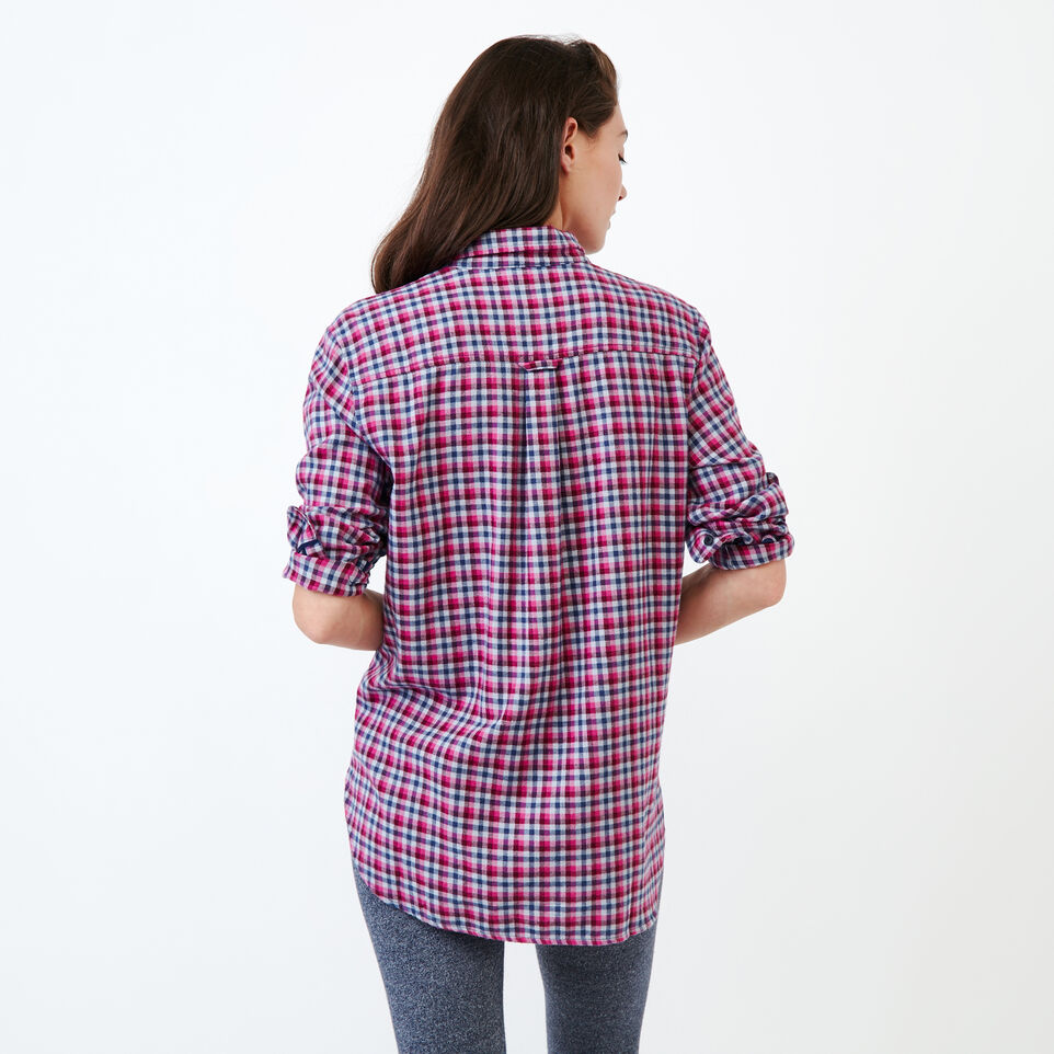 Roots-undefined-Relaxed Flannel Shirt-undefined-D