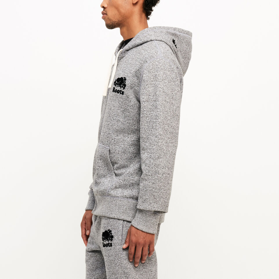 Roots-undefined-Roots Salt and Pepper Original Full Zip Hoody-undefined-C