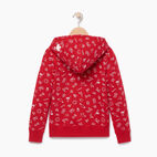 Roots-Kids Our Favourite New Arrivals-Girls Canada Aop Full Zip Hoody-Sage Red-B
