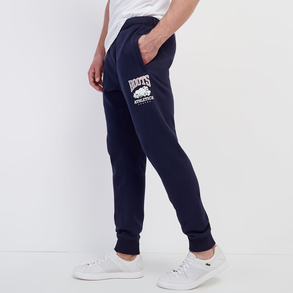 Roots-New For March Rba Collection-RBA Park Slim Sweatpant-Navy Blazer-C