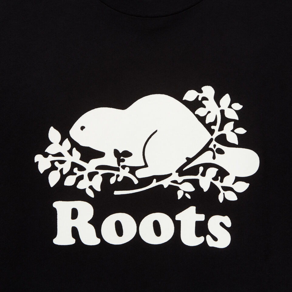 Roots-undefined-Mens Cooper Beaver T-shirt-undefined-D