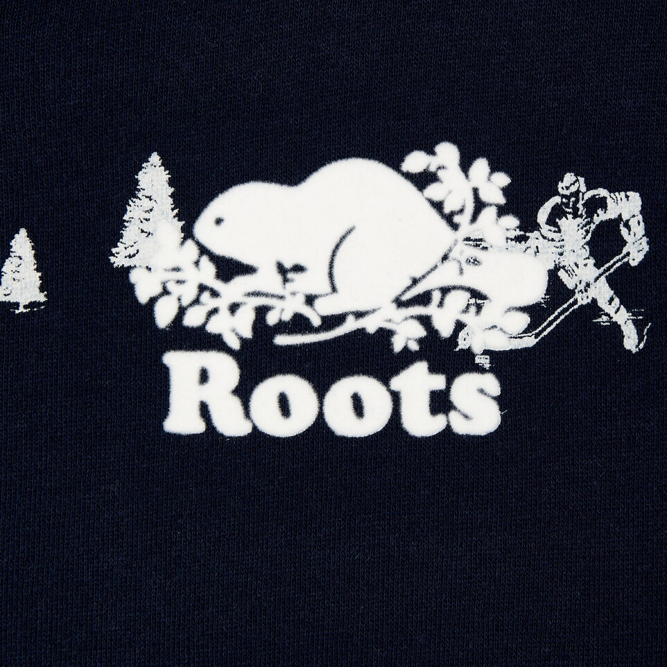 Roots-Sale Kids-Boys Hockey Aop Full Zip Hoody-Navy Blazer-D