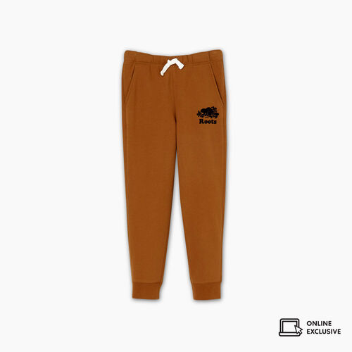 Roots-Kids Boys-Boys Park Slim Sweatpant-Treehouse Brown-A