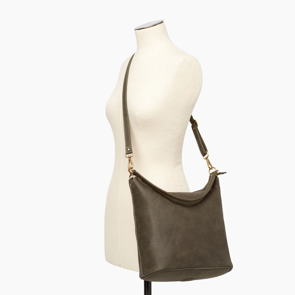 Roots-Leather  Handcrafted By Us Our Favourite New Arrivals-Ella Bag-Pine-B