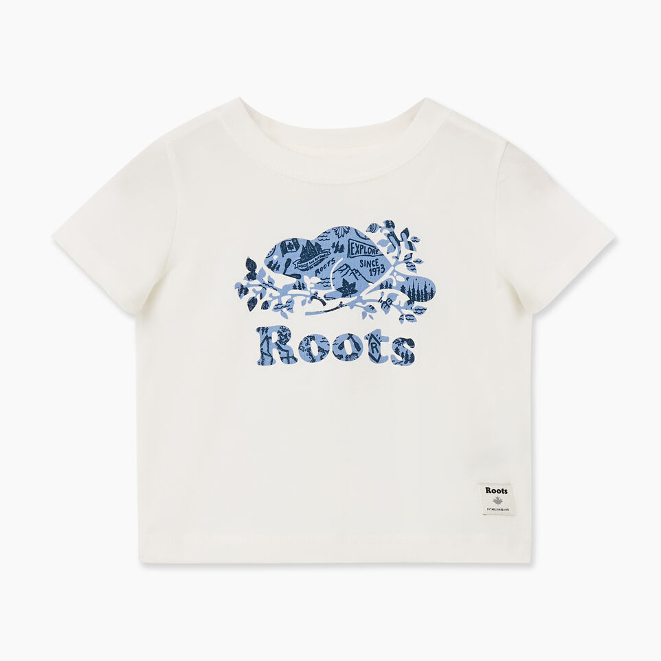 Roots-undefined-Baby Camp Cooper T-shirt-undefined-A