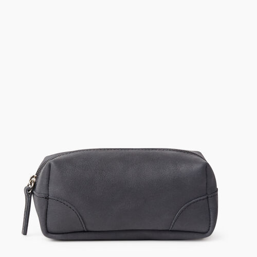 Roots-Leather New Arrivals-Small Banff Pouch Tribe-Jet Black-A