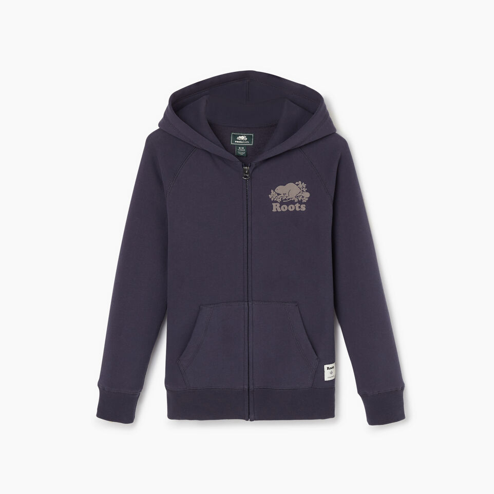 Roots-Kids Our Favourite New Arrivals-Boys Original Full Zip Hoody-Graphite-B