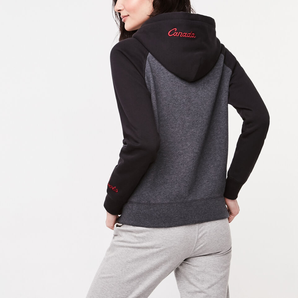 Roots-undefined-Womens Heritage Canada Full Zip Hoody-undefined-E