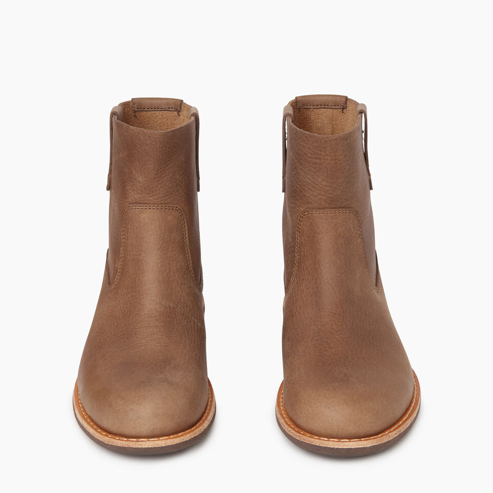 Roots-Women Categories-Womens Riverdale Shorty Boot-Fawn-D