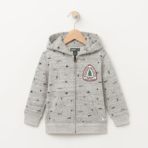 Roots-Sale Toddler-Toddler Ravenwood Hoody-Grey Mix-A