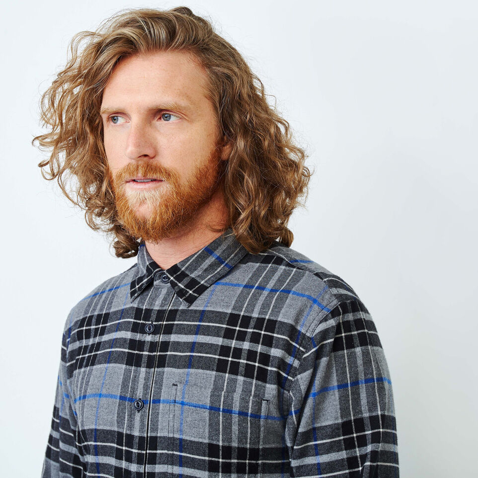 Roots-undefined-Clossen Flannel Shirt-undefined-E