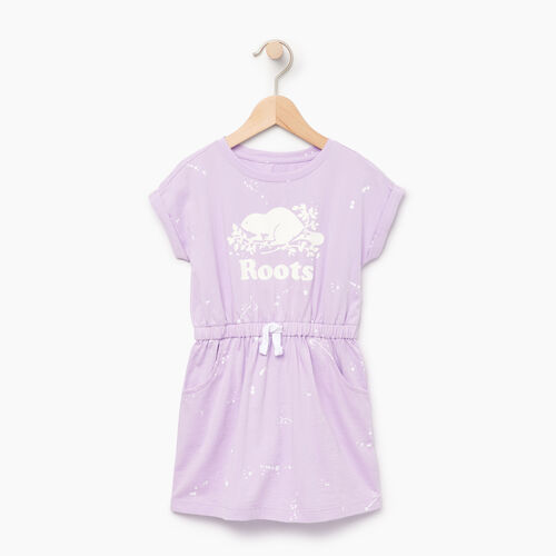 Roots-Kids Our Favourite New Arrivals-Toddler T-shirt Dress-Lavendula-A