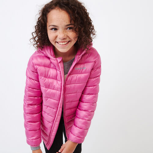 Roots-Sale Kids-Girls Roots Puffer Jacket-Phlox Pink-A